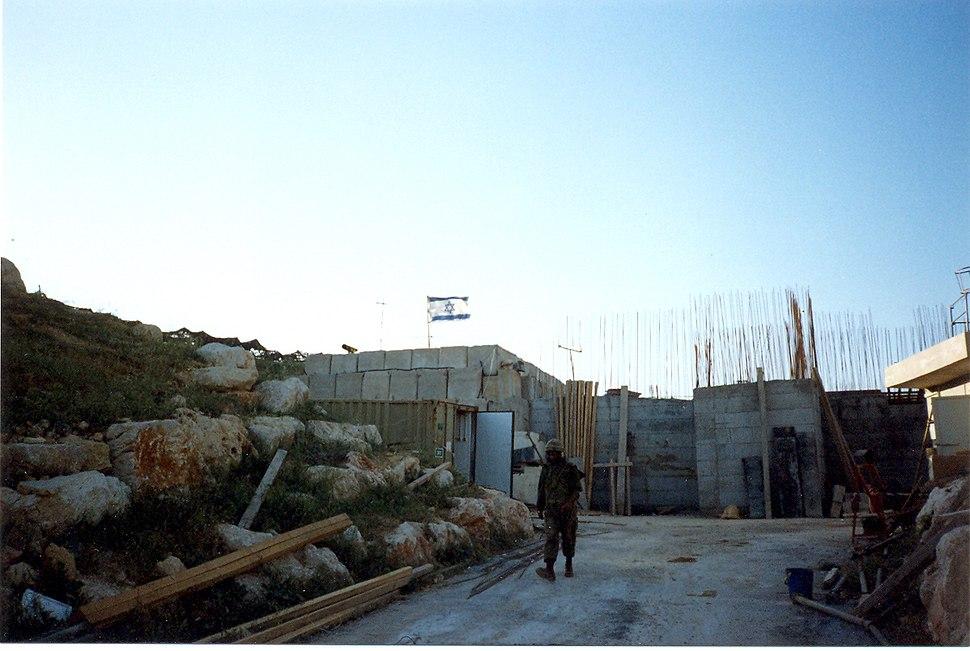 Galagalit IDF military post south lebanon