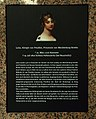 Galerie Luise Hannover Informationstafel vor dem Eingang Luisenstraße zu Königin Luise von Preußen, Prinzessin von Mecklenburg-Strelitz.jpg