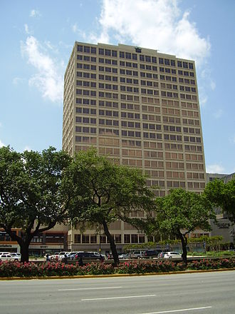 Galleria Office Towers - Galleria Tower II, then the headquarters of Stanford Financial Group
