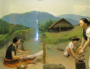 Galo tribe - Image: Galo diorama