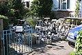Garden gnomes for sale, Lee Street, Horley - geograph.org.uk - 1511932.jpg