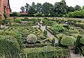 Garden knot parterre Old Palace Hatfield House Hertfordshire England.jpg