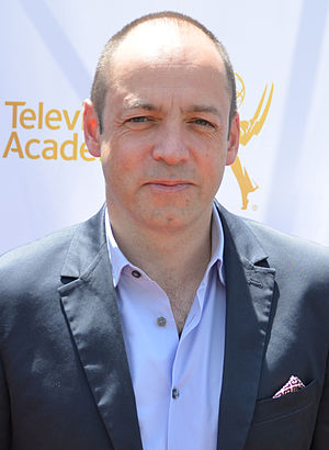 Gareth Neame - Neame at an event for Downton Abbey cast and creators, May 2014