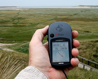 Spatial memory - Example of a hand held GPS