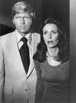 """The Sixth Sense (TV series) - Gary Collins and Susan Strasberg in """"Once Upon a Chilling"""", 1972"""