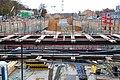 Gateway Gardens-Bau S-Bahn Tunnel-Blickrichtung nach Ost.jpg