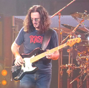 Rush (band) - Geddy Lee in concert, 2010