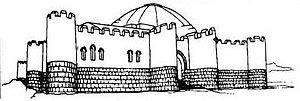 Geguti - Reconstruction sketch by V. Tsintsadze