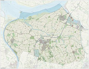 Steenbergen - Dutch Topographic map of Steenbergen, June 2015