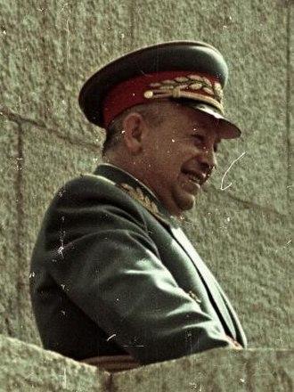 István Bata - Gen. István Bata in 1955