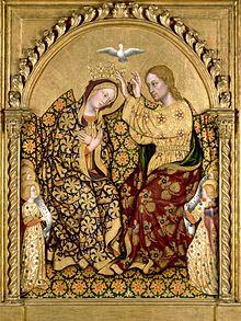 Resultado de imagen para La Coronación de María Santísima como Reina y Señora de Todo lo Creado