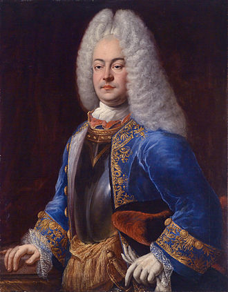 George Albert, Prince of East Frisia - Prince George Albert of East Frisia (Johann Conrad Eichler, 1718)