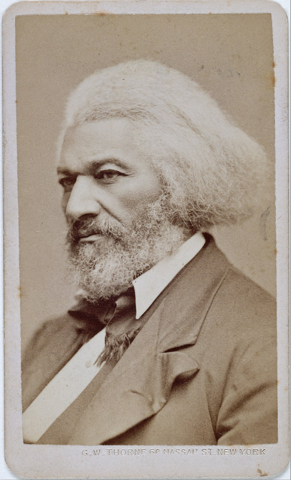 George Kendall Warren - Frederick Douglass - Google Art Project