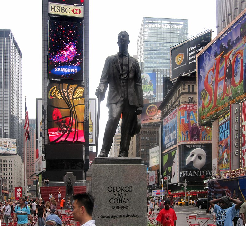 File:George M. Cohan statue in Times Square IMG 1607.JPG