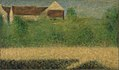 Georges Seurat - Houses and Garden PC 29.jpg