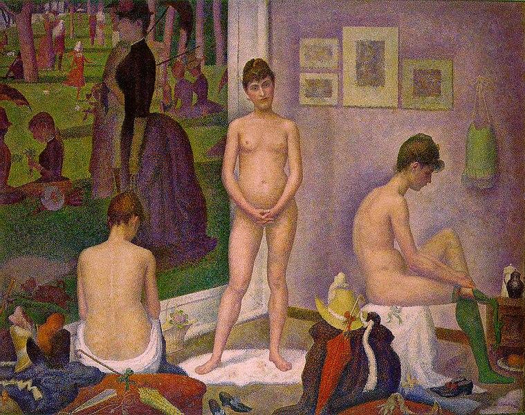 File:Georges Seurat - Les Poseuses.jpg