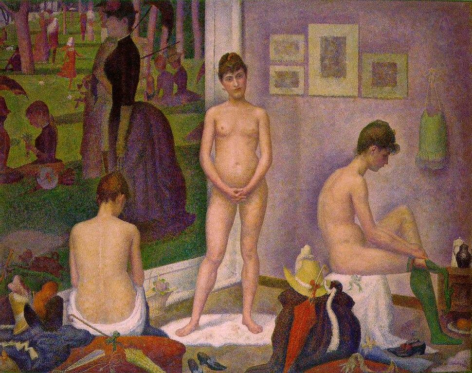 Georges Seurat - Les Poseuses