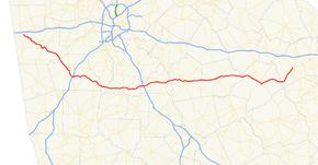 Map Of Georgia Highways.Georgia State Route 16 Wikipedia