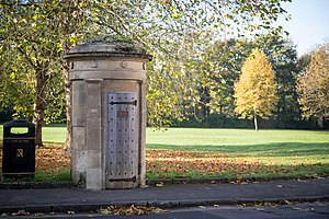 Watchman (law enforcement) - A rare and unusually fine Georgian Watchman's Box of about 1810. Bath, UK
