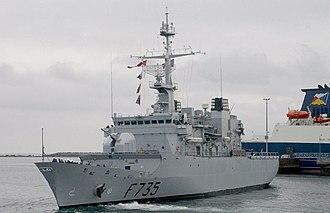 Floréal-class frigate - Image: Germinal 1