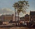 Gerrit Berckheyde - The Plaats with the Buitenhof and the Gevangenpoort, The Hague.jpg