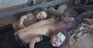 series of chemical attacks in Syria on 21 August 2013
