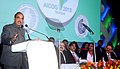 Ghulam Nabi Azad delivering the inaugural address at the 56th All India Congress of Obstetrics and Gynecology (AICOG-2013), in Mumbai. The Indian film actor, Shri Akshay Kumar and other dignitaries are also seen.jpg