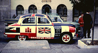 1967 Gibraltar sovereignty referendum - Image: Gibraltar referendum Nov 1967