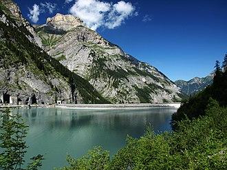 Canton of St. Gallen - Gigerwaldsee, Calfeisental