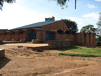 Gikondo massacre - The church in Gikondo
