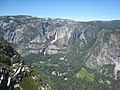 Glacier Point view north to Yosemite Falls over Yosemite Valley - panoramio.jpg