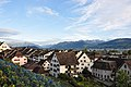 Glarner Alpen - Wägital - Obersee - Rapperswil - Rapperswil Lindenhof 2010-10-02 17-48-10 ShiftN.jpg