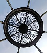 Gloriette de Buffon - Jardin des Plantes - Paris - View from Below.jpg