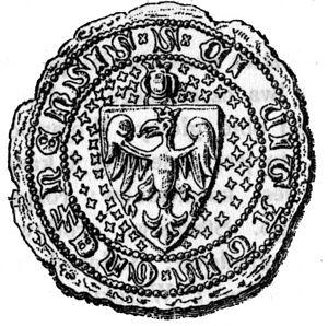 Gniezno - Mediaeval seal of Gniezno