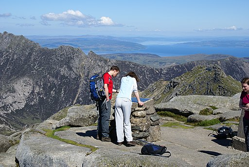 Goatfell Summit Viewpoint