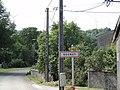 Gogney (M-et-M) city limit sign.jpg