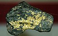 Gold & roscoelite (Stuckslacker Mine, Coloma, California, USA) (16562912783).jpg