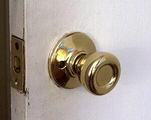See Image:Gold doorknob.jpg