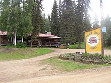 photograph of Golden Eagle Saloon in Ester, AK
