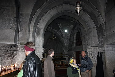 Golgotha chapel, Holy Sepulchre 2010.jpg