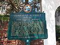 Gonzalez-Alvarez House Information Plaque.jpg