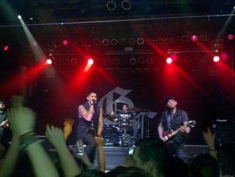 Good Charlotte - Good Charlotte performing in 2011.