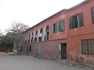 École normale supérieure William Ponty - The site of the original École William Ponty in Gorée