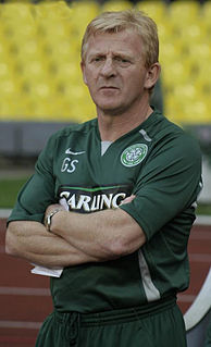Gordon Strachan Scottish footballer and manager