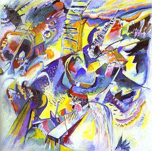 Lenbachhaus - Wassily Kandinsky, Gorge Improvisation 1914