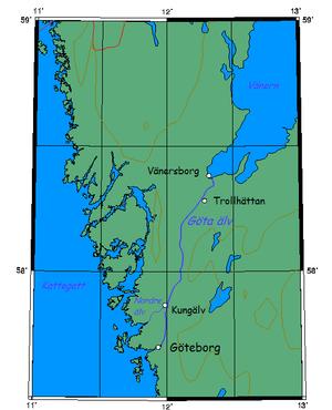 Göta älv - Image: Gota alv sweden