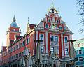 Gotha, Hauptmarkt, Rathaus, Westseite, 001.jpg
