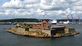Kattegat - Älvsborg at Gothenburg, a sea fortress in the Kattegat