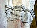 Gournay-en-Bray (76), collégiale St-Hildevert, doubleau entre croisée et nef, chapiteaux côté nord-ouest 2.jpg