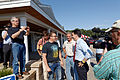 Governor of Wisconsin Scott Walker (and Scott Brown) at Seacoast Harley Davidson in North Hampton NH on July 16th 2015 by Michael Vadon 08.jpg